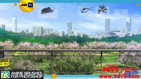 Artstation - Anime Brush Set 73+